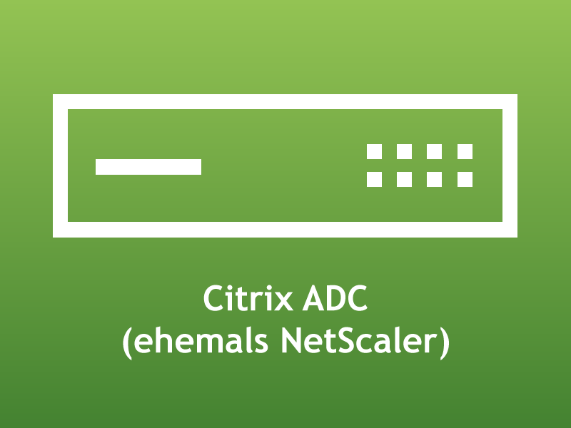 Citrix ADC 13