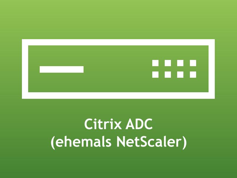 Citrix ADC 13